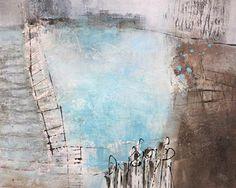"""Renate Migas, """"Ferne"""" Mit einem Klick auf """"Als Kunstkarte versenden"""" versenden Sie kostenlos dieses Werk Ihren Freunden und Bekannten."""