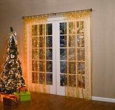 Holiday Curtain!