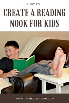 Create a Reading Nook for Kids Using What You Have. Make a comfortable spot in your home to encourage reading. AD #mastaplasta