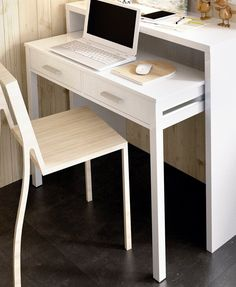 Small Corner Desk, Small Room Desk, Small Space Bedroom, Desks For Small Spaces, Small Apartments, Small Space Furniture, Multifunctional Furniture Small Spaces, Small Console Tables, Buy Desk