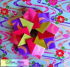 Otra Hermosa Mandala de Origami | Aprender manualidades es facilisimo.com