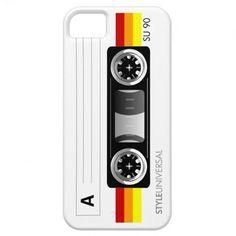 Cassette tape label warm #iPhone 5 case