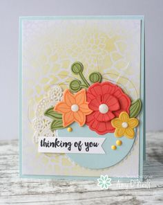 Falling Flowers, May Flowers, Stampin Up