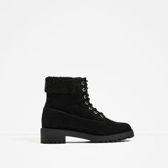 ZARA - SALE - TRACK SOLE LEATHER ANKLE BOOTS #JOINLIFE