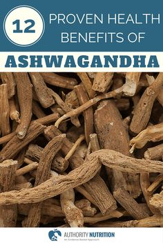 This is a detailed review of the herb ashwagandha. It is an old medicinal herb that has been shown to have powerful health benefits. Learn more here: https://authoritynutrition.com/12-proven-ashwagandha-benefits/