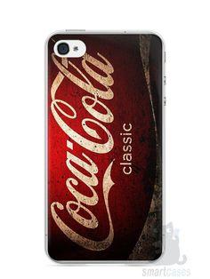 Capa Iphone 4/S Coca-Cola Classic - SmartCases - Acessórios para celulares e tablets :)