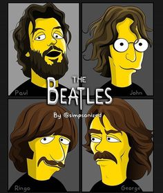 The Beatles by Groening