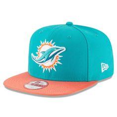 292981e4a27 Miami Dolphins New Era 2016 Sideline Official Original Fit 9FIFTY Snapback  Adjustable Hat - Aqua. Miami Dolphins New Era 2017 Color Rush ...