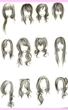 Anime hair is never like real hair, is it?