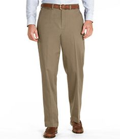 #LLBean: Wrinkle-Resistant Dress Chinos, Natural Fit Plain Front
