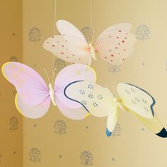 Abigail's butterfly themed room