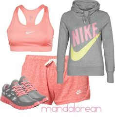Work out gear- if I actually worked out. I mostly just like the colors