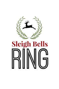 sleigh bells ring free christmas printable.png - Box