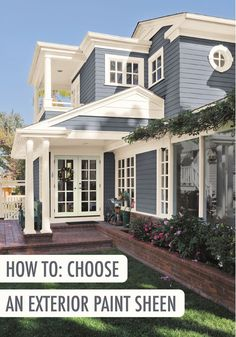 Make Your Own Exterior Paint Sheen