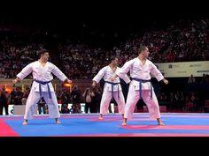 (2/2) Karate Japan vs Italy. Final Male Team Kata. WKF World Karate Championships 2012 - YouTube Goju Ryu Karate, Daniel Padilla, Muscular, Martial Arts, Breakup, Finals, Japan, World, Kathryn Bernardo