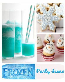 It's Written on the Wall: 27 Party Ideas for Disney's Frozen ( Movie ) Food, Treats, Drinks and Decorations-Elsa, Anna, Kristoff, Hans & Olaf