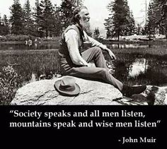 Where can I find information about John Muir and how he was important to national parks?