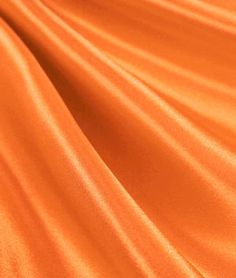 Orange Satin Fabric - $3.8 | onlinefabricstore.net