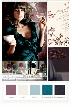Glamorous Jewel Tones: by 100 Layer Cake Colour Schemes, Color Patterns, Color Combinations, Colour Palettes, Color Charts, Jewel Tone Colors, Jewel Tones, Rich Colors, Jewel Tone Wedding