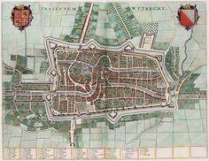 Traiectum - Wttecht - Utrecht (Atlas van Loon).