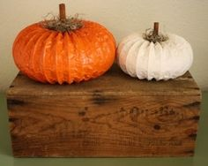 Pumpkin made from dryer vent by Cathy Burnett