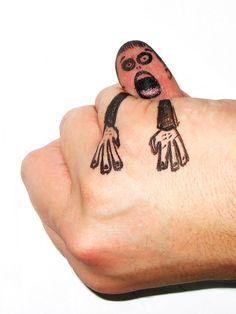 Finger Art - Monster