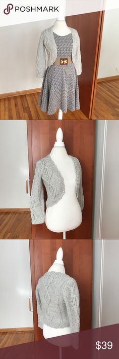 Anthropologie Tejido Cardigan Sweater NWT New gray Anthropologie Tejido Cardigan. Sz small. NWT. All measurements are pictured. Anthropologie Sweaters Cardigans