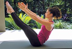 How to do the Teaser. Challenge your core strength, balance and coordination with this hardcore #Pilates move.
