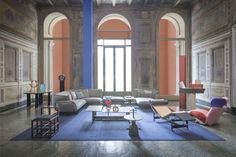The Design Heritage of Cassina Interior Design Companies, Best Interior, Interior Design Living Room, Art Deco, Antique Interior, Big Design, Italian Furniture, Space Furniture, Elle Decor