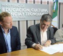 EDUCACIÓN RENOVÓ EL CONVENIO CON EL GOETHE INSTITUT DE ALEMANIA PARA PROMOVER EL ESTUDIO DEL IDIOMA