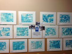 """This piece was inspired by the childrens book """"Little Cloud"""" by Eric Carle"""