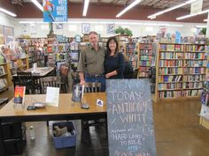 Celebrating the release of Cold Hard Ride with a book signing in Austin, Texas. Get more info @ www.anthonywhitt.com