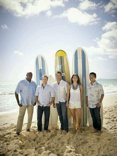 Scott Caan, Daniel Dae Kim, Chi McBride, Grace Park, and Alex O'Loughlin in Hawaii Hawaii Five O, Hawaii 5 0 Cast, Scott Caan, Chicago Fire, Criminal Minds, Ncis, Movies Showing, Movies And Tv Shows, Special Forces