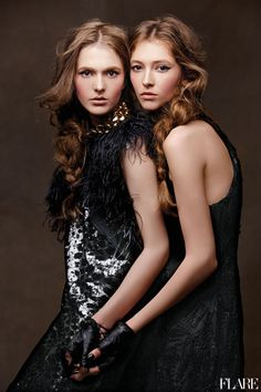 Twisted Sisters - November 2011 / Editor: Kristen Vinakmens / Editor: Fiona Green / Art Director: Tanya Watt / Photographer: Zhang Jingna