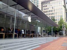 Apple Store Downtown Portland  #applestorearchitectureretail Pinned by www.modlar.com