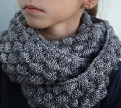 Taupe speckled chunky winter scarf for men and women Hand knitted ultra soft fluffy winter cowl-Great for men - The SeaGal Lana, Hand Knitting, Taupe, Laurence, Women, Cowls, Origami, Couture, Free Shipping