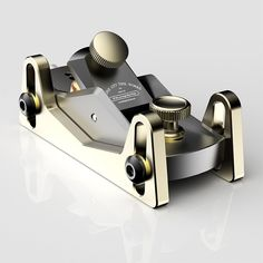 Milled from aluminum billet, the HP-8 Low Angle Mini Block Plane with Depth Skids works as a standalone small block plane or as a thickness plane for ultra-precise requirements.  Available to preorder at www.bridgecitytools.com through November 9! #woodworking #bridgecitytools