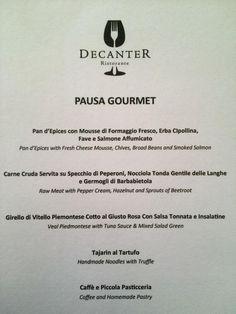 Nuova offerta: Speciale degustazione Gourmet Milano