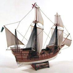 Spanish Galleon Papercraft | Tektonten Papercraft