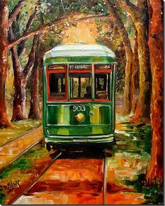 The St. Charles Avenue Line by Diane Millsap - Vickie lived on this street while there.