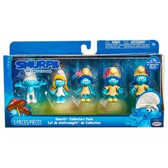 smufs lost village figures | Smurf The Lost Village 5 Figure Collectors Pack - Toys Ireland