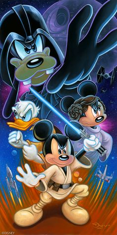 Star Wars and Disney Arte Do Mickey Mouse, Mickey Mouse Y Amigos, Mickey Mouse Tattoos, Mickey Mouse And Friends, Mickey Mouse Wallpaper, Disney Phone Wallpaper, Looney Tunes Wallpaper, Cartoon Wallpaper, Mickey Mouse Pictures