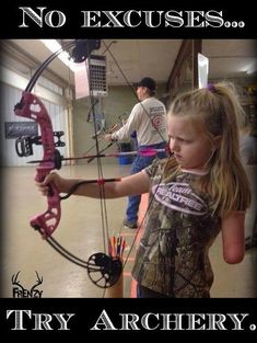 No Excuses,Try Archery. #archeryhunting