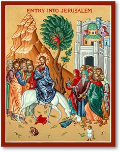 Great Feast Icons: Entry into Jerusalem Icon | Monastery Icons