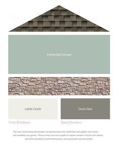 Exterior color choices