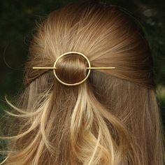 Classic Round Hair Clip