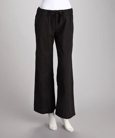 Take a look at this Black Heat of the Night Pants by Lagaci on #zulily today!