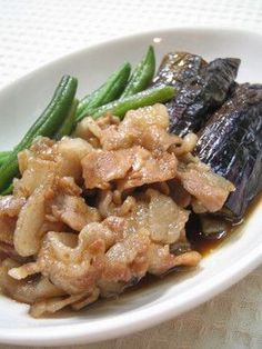 豚バラ肉となすの旨煮