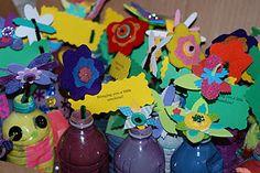 Nursing home gift recycle bottle vases