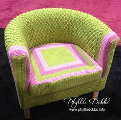 Bernat green chair,